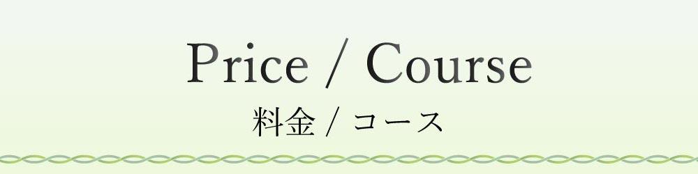 料金/コース